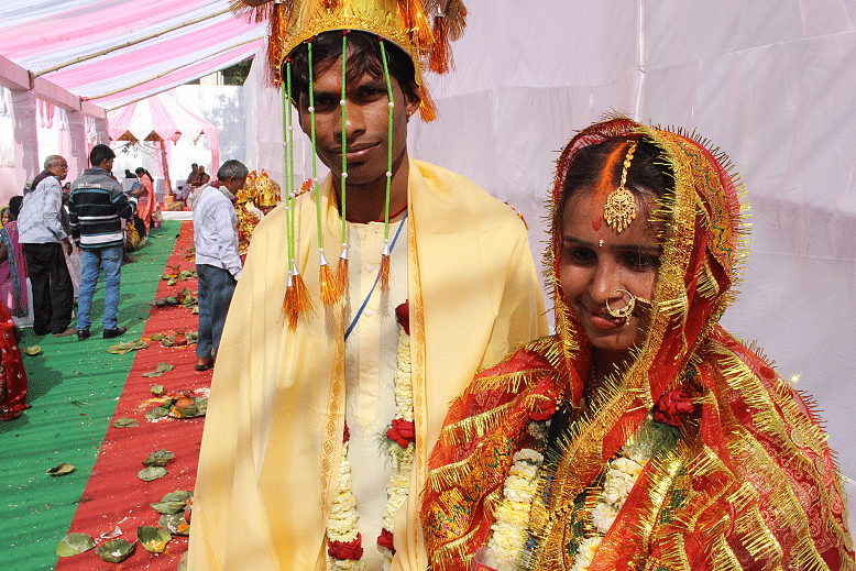 Sheetal With her Husband